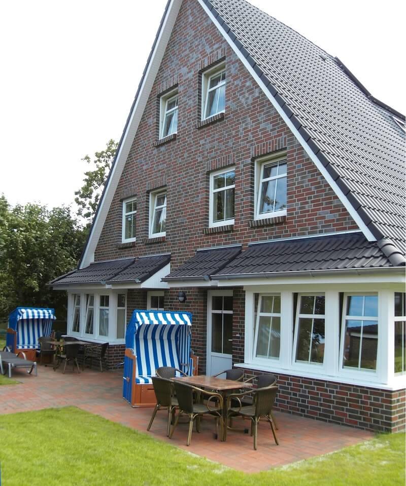 Ferienhaus Langeoog -HeinFlint außen