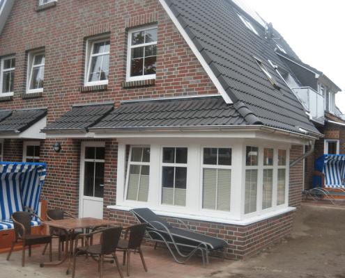 Ferienwohnung Langeoog - Hus Hein Flint - HF A Terr