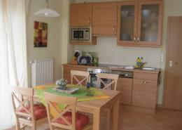 Ferienwohnung Langeoog - Hus Hein Flint - HF2 Essen Küche