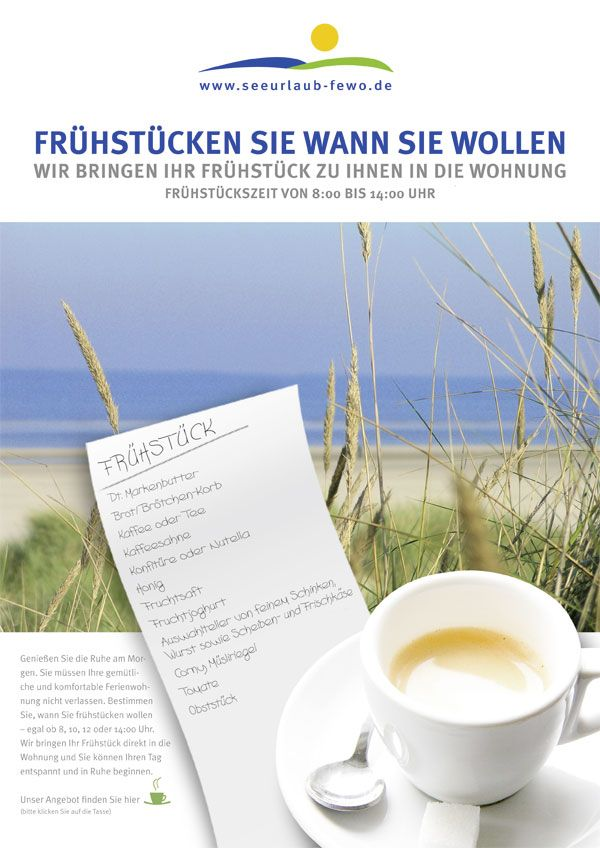 Ferienwohnung Langeoog Frühstück